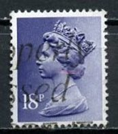 Grande Bretagne - Great Britain - Großbritannien 1980-81 Y&T N°969 - Michel N°865 (o) - 18p Reine Elisabeth II - PCP2 - Usati