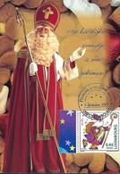 Luxembourg  -  6.12.2001  -  St. Nicolas - Maximum Cards