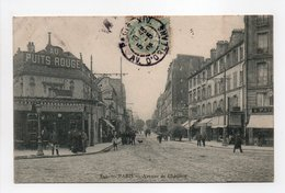 - CPA PARIS (75) - Avenue De Châtillon (CAFÉ AU PUITS ROUGE) - Edition MARMUSE 841 - - Arrondissement: 14