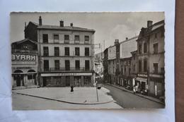 TARARE-place Du Marche Et Rue Anna-Bibert-pub Byrrh-casino-magasin J.Fouillat - Tarare