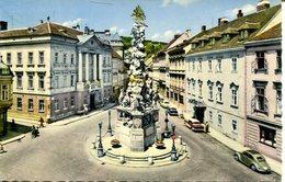 Kurstadt Baden Bei Wien - Hauptplatz, Dreifaltigkeitssäule  (008088) - Baden Bei Wien