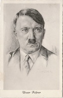 "III. Reich, Propaganda  Karte, "" Adolf Hitler "" - Guerre 1939-45"