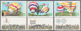 ISRAEL    SCOTT NO 1203-5    MNH    YEAR  1994   WITH TABS - Israel