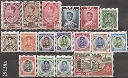 1960/68 - Lot De 23 Timbres Neufs - VC: 303.25 Eur. - Thailand