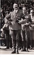 """III. Reich, Propaganda  Karte, """" Adolf Hitler - Mit Hess  """" - Weltkrieg 1939-45"""