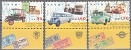 ISRAEL    SCOTT NO 1217-19    MNH    YEAR  1994   WITH TABS - Israel