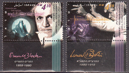 ISRAEL    SCOTT NO 1225-26    MNH    YEAR  1995   WITH TABS - Israel