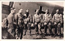 "III. Reich, Propaganda  Karte, "" Fallschirmjäger "" - Weltkrieg 1939-45"