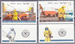ISRAEL    SCOTT NO 1250-51    MNH    YEAR  1995   WITH TABS - Israel