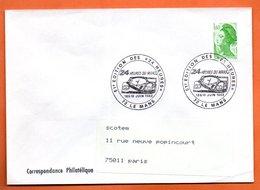 72 LE MANS  24 HEURES  1983 Lettre Entière N° AB 155 - Marcophilie (Lettres)