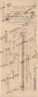 Spécialité De Vernis Français Et étrangers Pastoors Frères  à Le Quesnoy, 1900, Titre De Paiement - 1900 – 1949