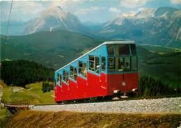 Trains - Funiculaires - Autriche - Standseilbahn Seefeld, 1200 M - Robhutte 1800 M , Tirol - Carte Neuve - Voir Scans Re - Seilbahnen