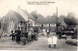 Avesnes: Scierie Mécanique Thillier Edouard - Avesnes Le Comte
