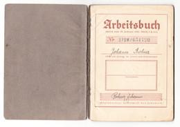 III. Reich, Arbeitsbuch, Österreich ( Ostmark ), Wels, Linz, 1940 - Documents