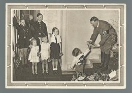 POSTKARTE   Avec Affranchi à  6 + 19 Deutches Reich  Effigie Adolf Hitler  Oblitération: Karlsruhe 20/1/1939 - Weltkrieg 1939-45