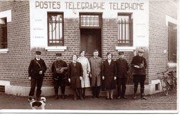 Grenay: Carte Photo Des PTT (facteurs)1931 - Autres Communes