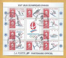 Bloc Feuillet J.O. 08/02/1992 Albertville - Sheetlets