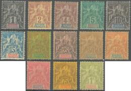 Soudan Français 1894-1900 - N° 03 à 15 (YT) N° 3 à 15 (AM) Neufs *. - Ungebraucht