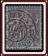 Soudan Français 1894-1900 - N° 07 (YT) N° 7 (AM) Oblitéré De Kayes. - Sudan (1894-1902)