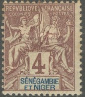 Sénégambie Et Niger - N° 03 (YT) N° 3 (AM) Neuf *. - Senegambie Und Niger (1903-1906)
