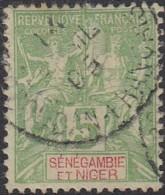 Sénégambie Et Niger - N° 04 (YT) N° 4 (AM) Oblitéré. - Senegambia E Niger (1903-1906)