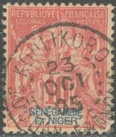 Sénégambie Et Niger - N° 05 (YT) N° 5 (AM) Oblitéré De Koulikoro. - Senegambia E Niger (1903-1906)
