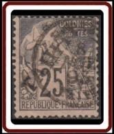 Tahiti - N° 15 (YT) N° 15 (AM) Oblitéré. - Tahiti (1882-1915)