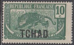 Tchad - N° 05 (YT) N° 5 (AM) Neuf *. - Tschad (1922-1936)