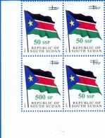 SOUTH SUDAN Surcharge Overprint ERROR On The 50 SSP OP On 1 SSP Flag: 500 SP Südsudan Soudan Du Sud - South Sudan