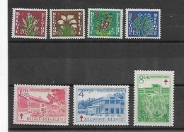 België  N° 834/840  Xx Postfris  Cote 54,00 Euro - Belgium