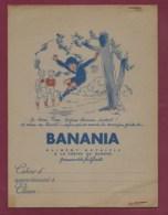 160120 - PROTEGE CAHIER Chocolat BANANIA Histoire Ya Bon - Jeu Enfant Farine De Banane Soleil Afrique - Cacao
