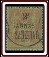 Zanzibar Bureau Français - N° 23 (YT) N° 40 (AM) Oblitéré. - Zanzibar (1894-1904)