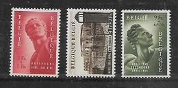 België  N° 943/945  Xx Postfris  Cote  125,00 Euro - Belgium