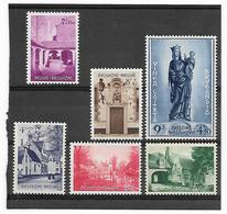België  N° 946/951  Xx Postfris  Cote  175,00 Euro - Belgium