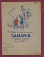 160120 - PROTEGE CAHIER Chocolat BANANIA Histoire Ya Bon - Jeu Enfant Farine De Banane Soleil Afrique écolier - Cacao