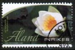 2013 Aland  M 377 Flower Postally Used. - Aland