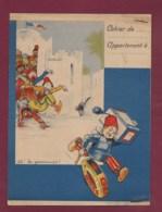 160120 - PROTEGE CAHIER Fromage GRAF OATS Flocons D'avoine Tartinette - JOZ école Maghreb Chat Montre Sabot Ballon - Alimentare