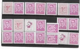 België  N° 1484/1485K  Xx Postfris  Cote  36,00 Euro - Nuovi