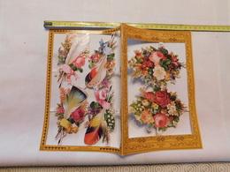 Decoupis Fleur Le Prix Pour 1 Feuille Boite N°34 No Delcampe Pay - Flowers