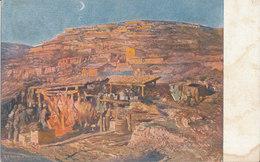 GUERRA VISTA RAPPRESENTATA IMPRESSIONI DI G. A. SARTORIO BARACCAMENTI A BONETI SUL CARSO - Guerra 1914-18