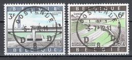 BELGIE: COB 1514/1515  MOOI GESTEMPELD. - Used Stamps