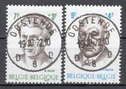 BELGIE: COB 1559/1560  MOOI GESTEMPELD. - Used Stamps