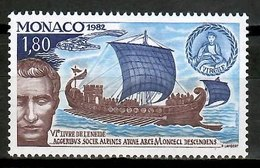 Monaco 1982 / Ships MNH Schiffe Barcos Bateux / Cu15537  40-18 - Boten
