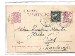 Eb022 / SPANIEN - Balearen) 1938 Nach Jugoslowien. - 1931-....