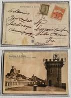 Cartolina Illustrata Per Iesi Le Tre Torri - Anno 1904 - San Marino