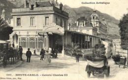 Monaco - Monté-Carlo - Galerie Charles III - D 2260 - Monte-Carlo