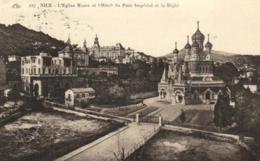 06 - Alpes Maritimes - Nice - L'Eglise Russe Et L'Hotel Du Parc Impérial Et Le Righi - D 2282 - Monuments, édifices