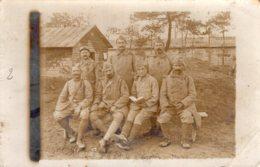 B63917 Cpa Carte Photo Militaire - Militaria