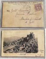 Cartolina Illustrata Panorama Della Città - Anno 1903 - San Marino
