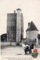 B63963 Cpa Huriel - La Toque, Ancienne Tour Du Château Des Comtes De Brosse - Sin Clasificación